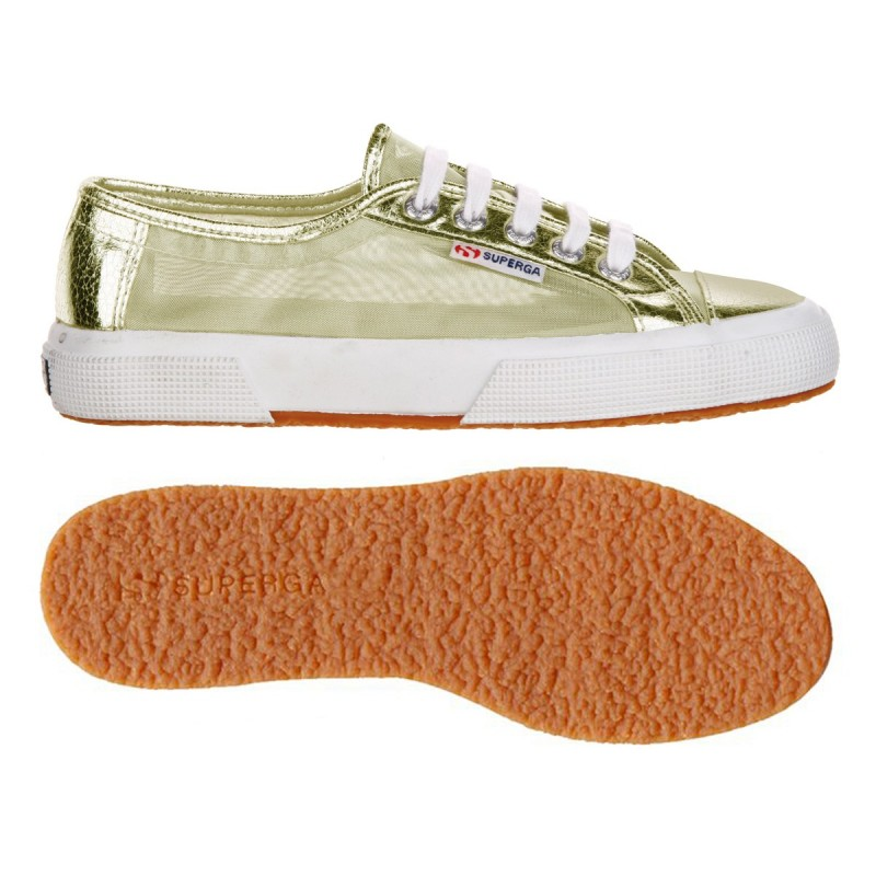 Superga orange gold