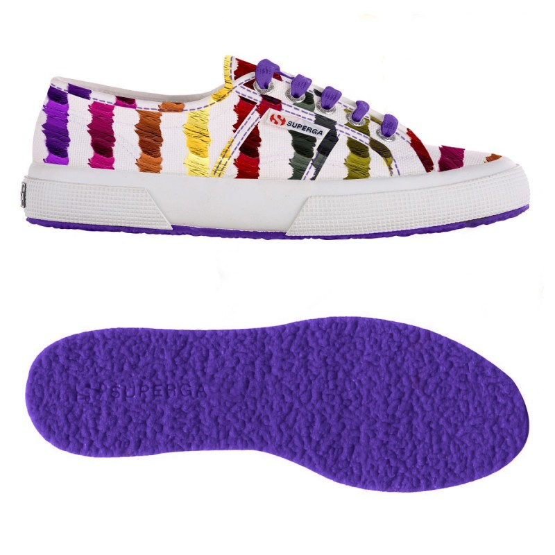 2750-FANTASY COTU, 14358, LE SUPERGA S001W00 C94 BRUSH MULTI