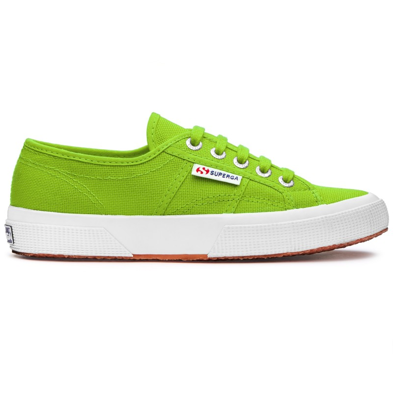 Superga clásica 2750 ACID GREEN