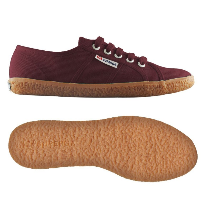 Superga naked burdeos
