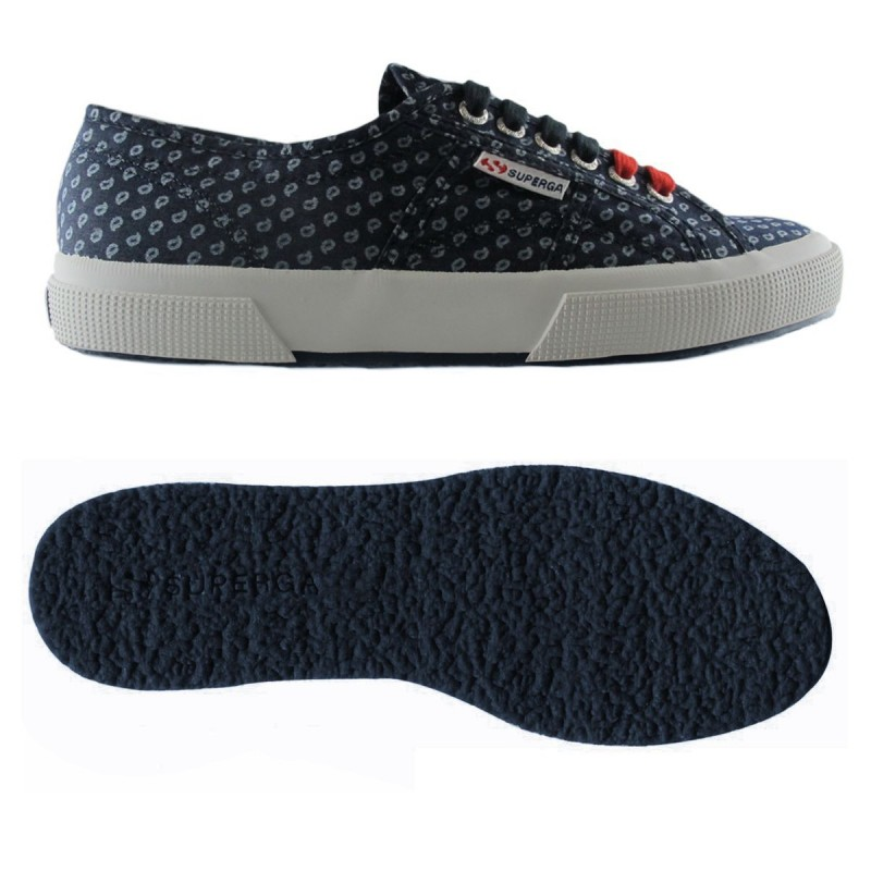 Superga azules denim