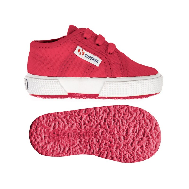 Superga bebé red azalea