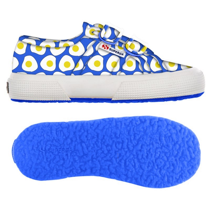 2750-FANTASY COVJ, 14360, LE SUPERGA S001W80 C96 EGGS BLUE T