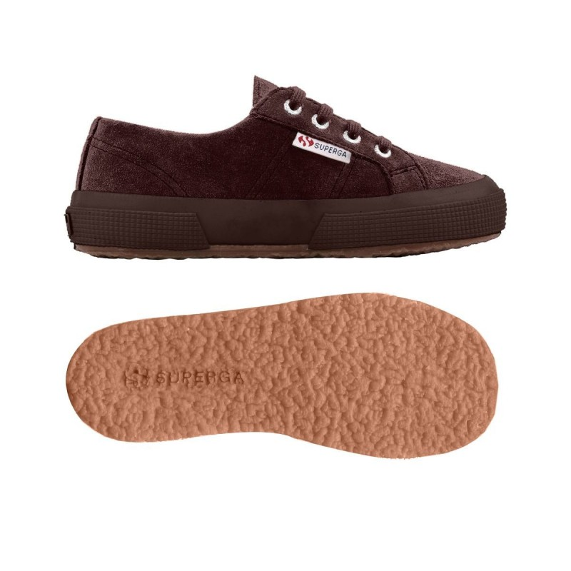 Superga niños ante marrón chocolate