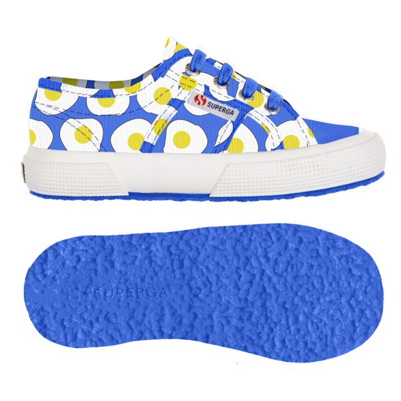 2750-FANTASY COVJ, 14360, LE SUPERGA S001W80 C96 EGGS BLUE