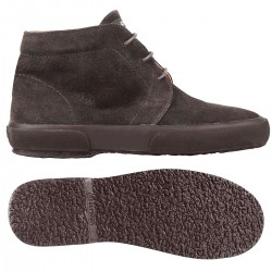 2175ESUEM, 13575, ANKLE BOOTS S001NU0 G08 FULL DK CHOCOLATE