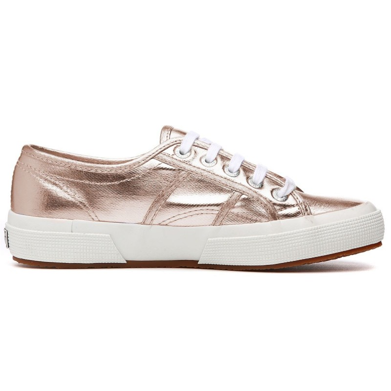 Superga metalizadas rosa gold