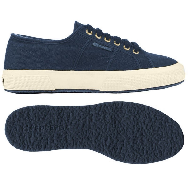2750-COBINU, 15109, LE SUPERGA S002KI0 910 BLUE-GOLD