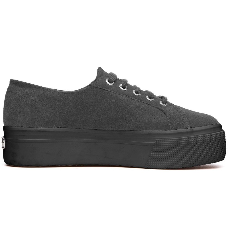 Superga plataforma full grey