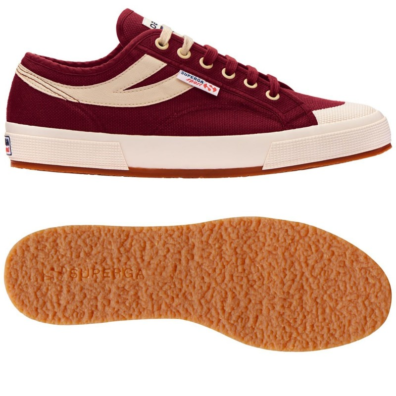 Superga Sport burdeos