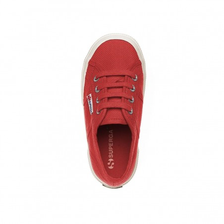 SUPERGA 2750 JCOT CLASSIC RED