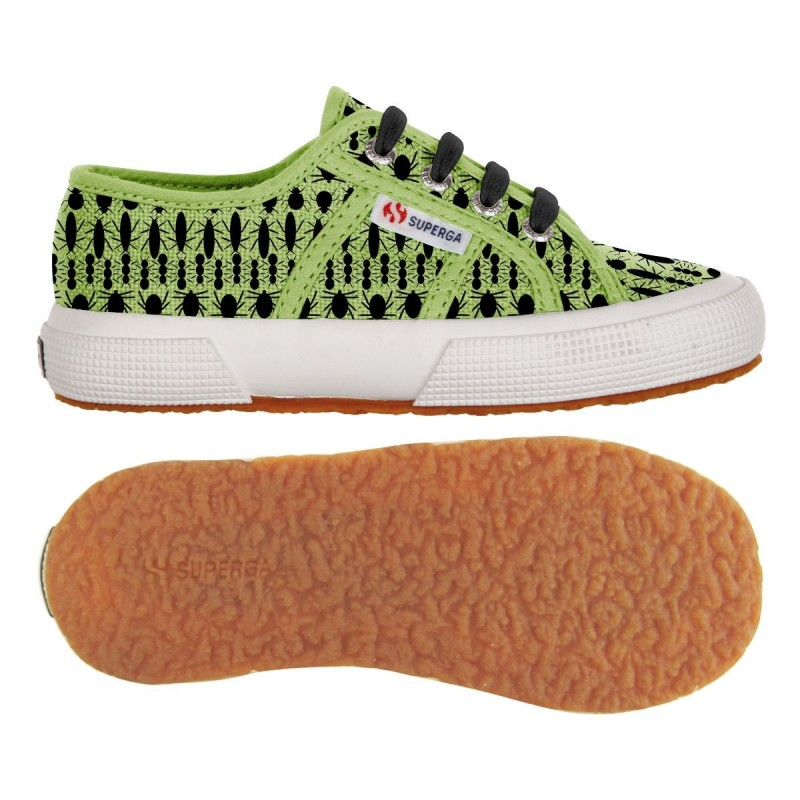 2750-FANTASY COTJ, 14360, LE SUPERGA S001W90 C98 INSECTS GRE