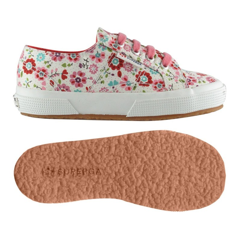 2750-COTFLOWERSJ, 12943, LE SUPERGA S009HR0 C18 FLOWERS PIN