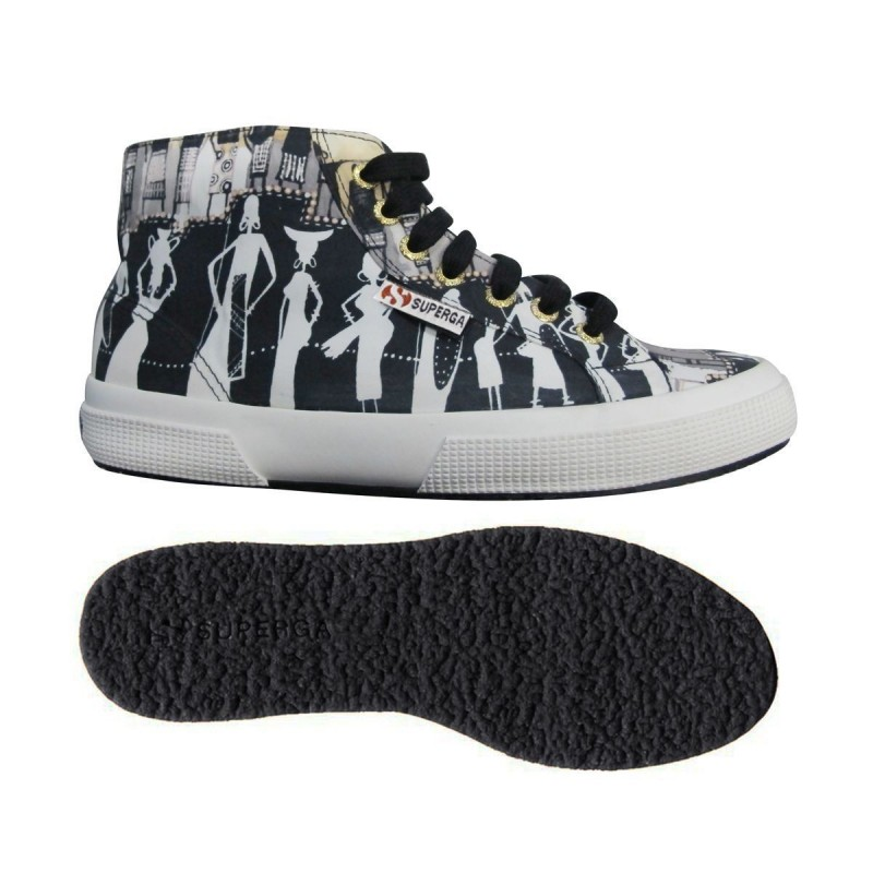 Superga Mid Top Ethnic