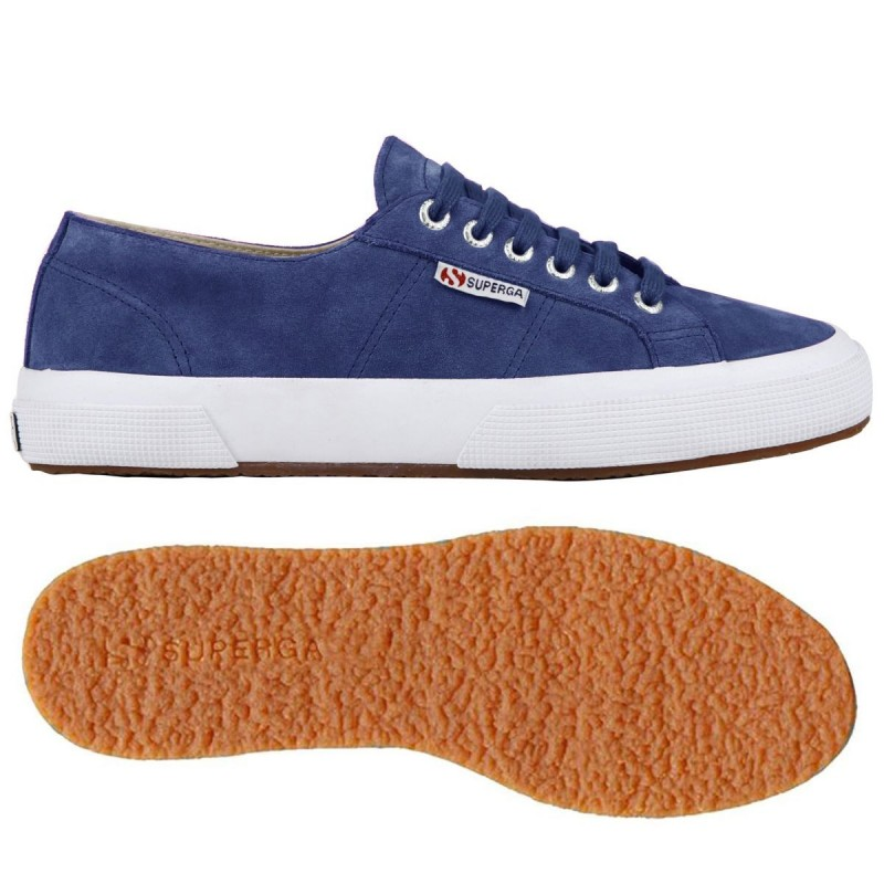 2750-SUEU, 13573, LE SUPERGA S003SR0 808 BLUE NAUTIC