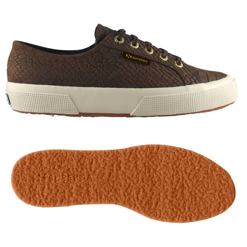 2750-FGLANACONDAW, 15110, LE SUPERGA S00BFI0 662 BROWN COFFE