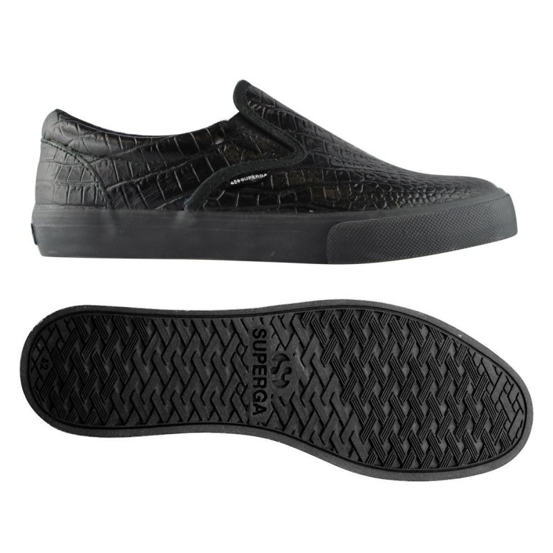 Superga slip on negras Fglwembcocco