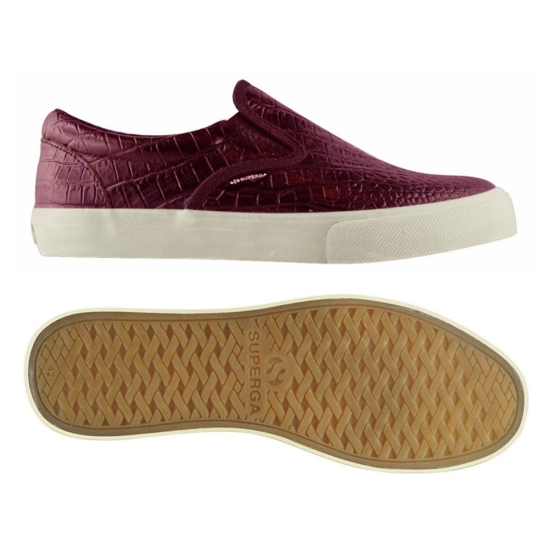 Superga slip on burdeos 2FGLWEMBCOCCO