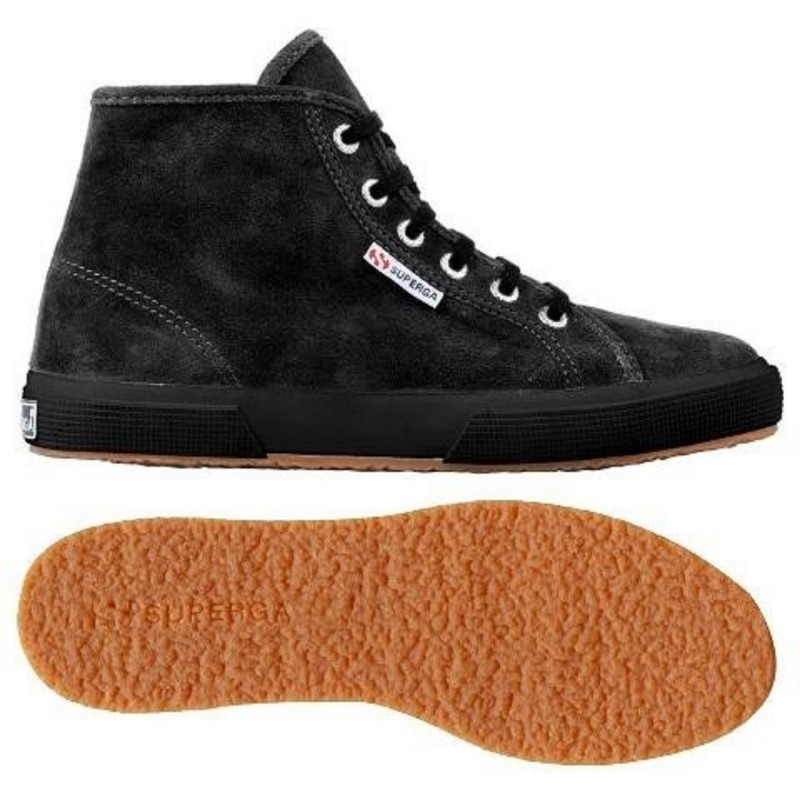 2095-SUEU, 12121, LE SUPERGA S0028C0 A09 FULL BLACK