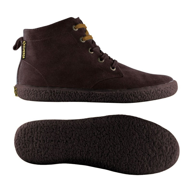 Superga ankle boots marrón oscuro