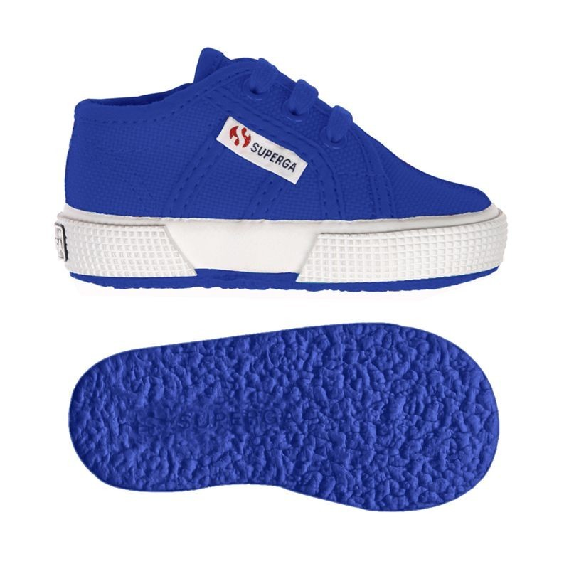 Superga baby azul intenso