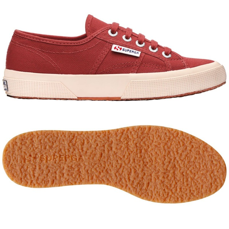 Superga brown reddish