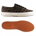 2750-FABRICSYNZEBRAW, 15110, LE SUPERGA S00BEG0 928 BROWN-BRONZE