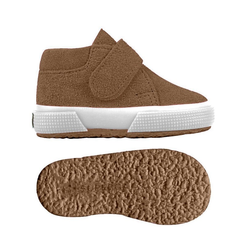 2174-BSUJ, 15112, LE SUPERGA S001NW0 242 BROWN BOMBAY