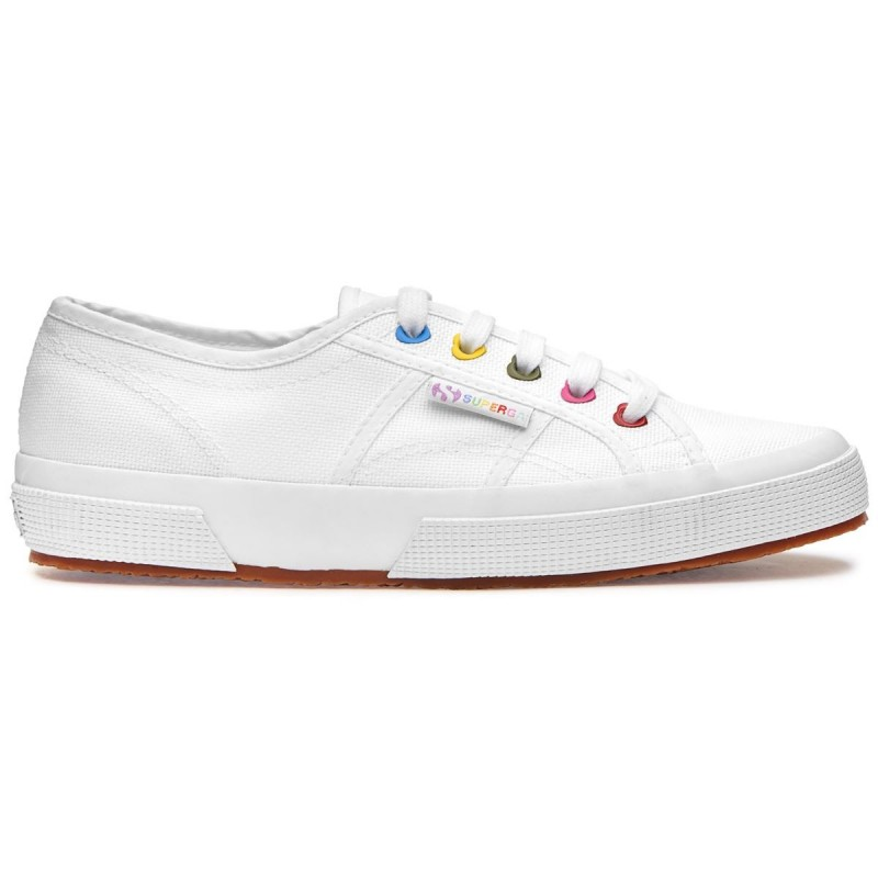 Superga colors hearts blancas
