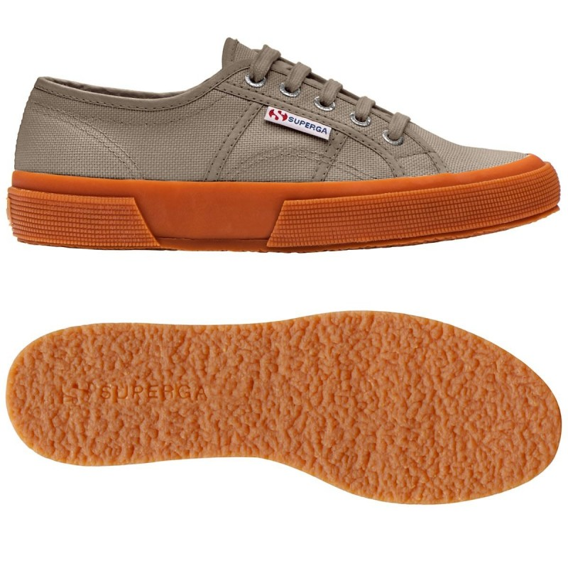 Superga Clásica suela caramelo color marrón mushroom