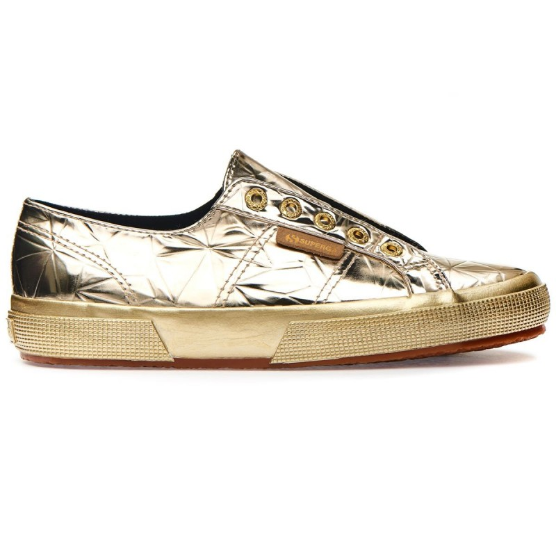 Superga doradas diamond mirror