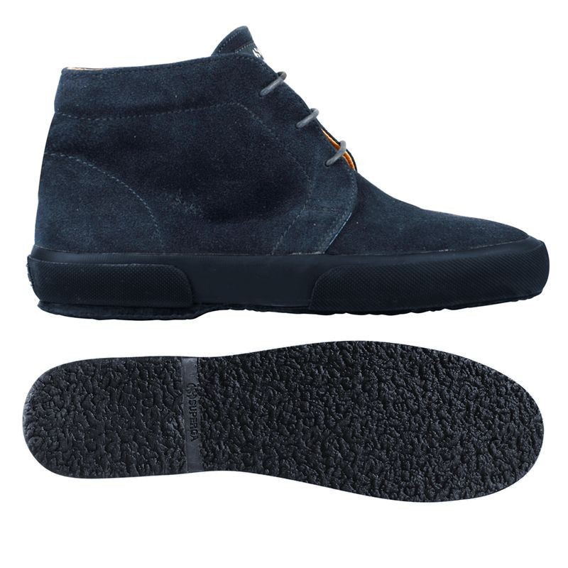 SUPERGA BOTA ANTE ANKLE BOOTS FULL BLUE