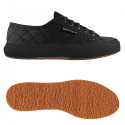 2750-QUILTNYLU, 15110, LE SUPERGA S00CJS0 A09 FULL BLACK