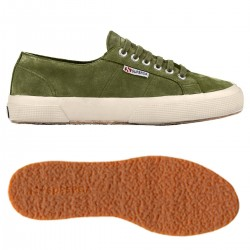 2750-SUEU, 15110, LE SUPERGA S003SR0 N39 GREEN TEA-OFF WHITE