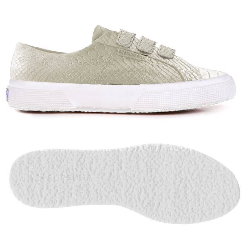 2750-FGLANACONDA3VELW, 15110, LE SUPERGA S00CJ80 N20 WHITE CREAM