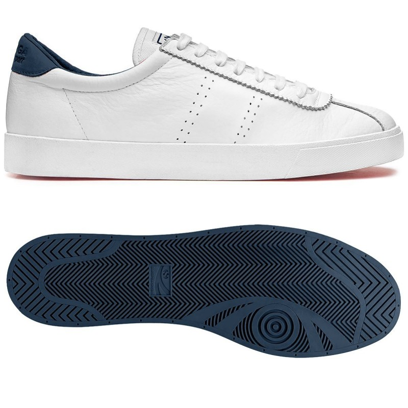 2843-COMFLEAU, 15124, SNEAKERS S00CKL0 903 WHITE-NAVY