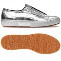 SUPERGA PLATA DIAMOND MIRROR GREY SILVER