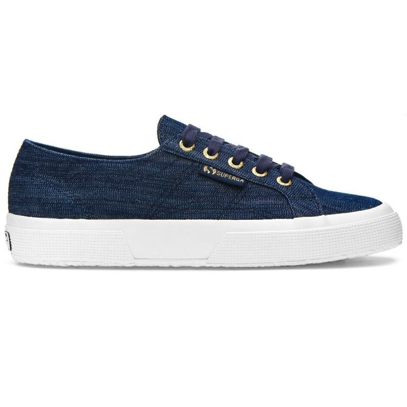 SUPEGA DENIM MARINO SUELA BLANCA