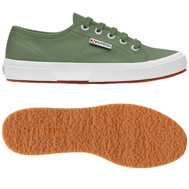 Superga verde bay