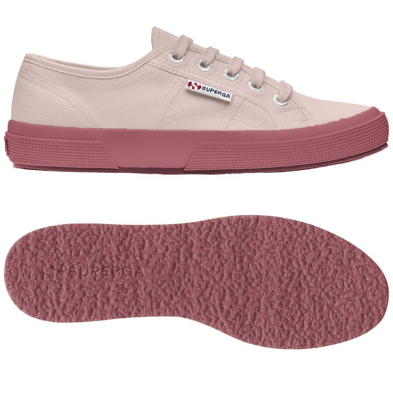 Superga rosa skin y dusty