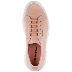 SUPERGA 2287 LEANAPPAW LADY SHOES S00DQ70 W6Y PINK SKIN