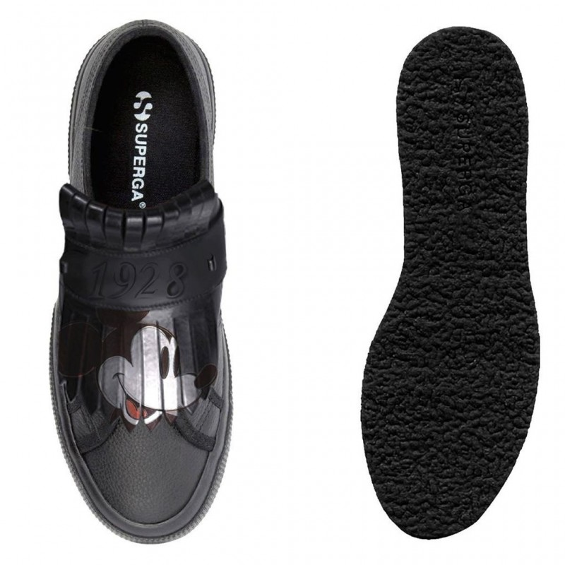 SUPERGA MICKEY ADULTO FGLU BLACK