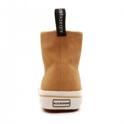 SUPERGA ALEXA CHUNG MID TOP SUEDE YELLOW MUST