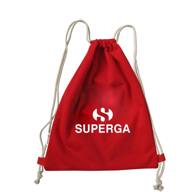 MOCHILA SUPERGA GYMBACKPACK BAG ROJA