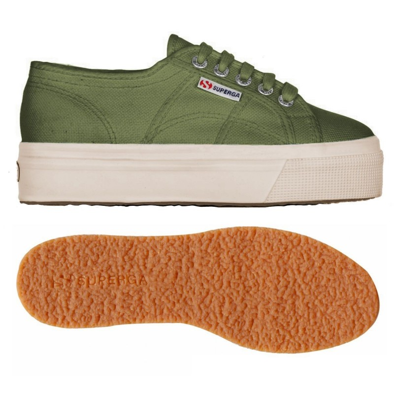 2790ACOTW LINEA UP AND DOWN, 15109, LADY SHOES S0001L0 B63 GREEN CAPULET