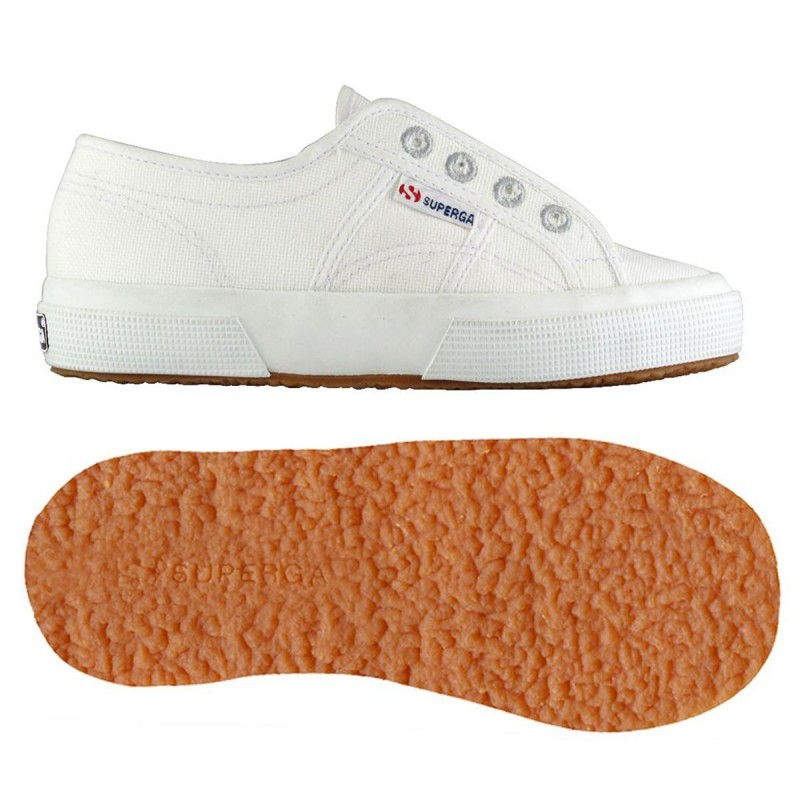 SUPERGA 2750 JUNIOR SLIPON S009NC0 901 WHITE