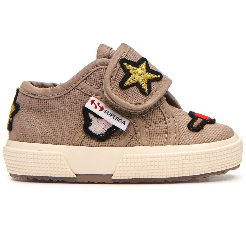SUPERGA BEBÉ COLOR MUSHROOM PARCHES LIKE STARS
