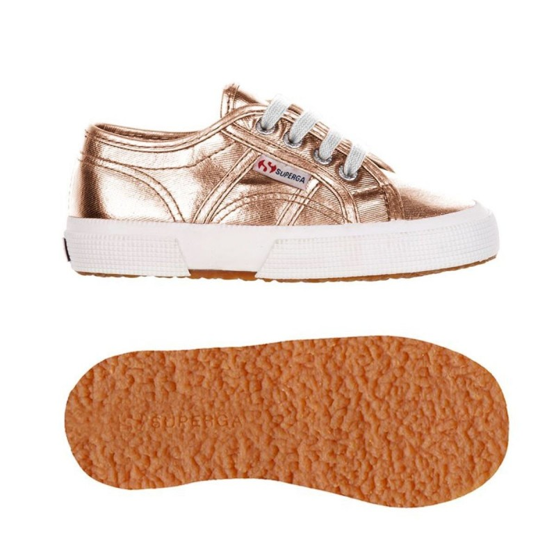 SUPERGA ORO ROSA NIÑOS 2750 S003340 916 ROSE GOLD