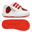 2750-COTPATCHB, 16128, LE SUPERGA S00CAA0 G50 WHITE-RED-S