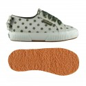 SUPERGA LUNARES 2750 NIÑO S00CBT0 F94 CREAM-GREEN DOTS